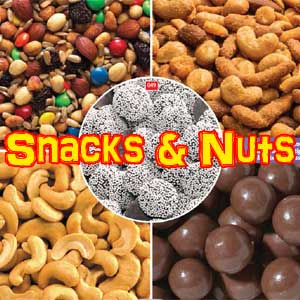 snacks and nuts
