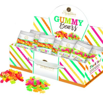 Signature 1 gummy bears carrier
