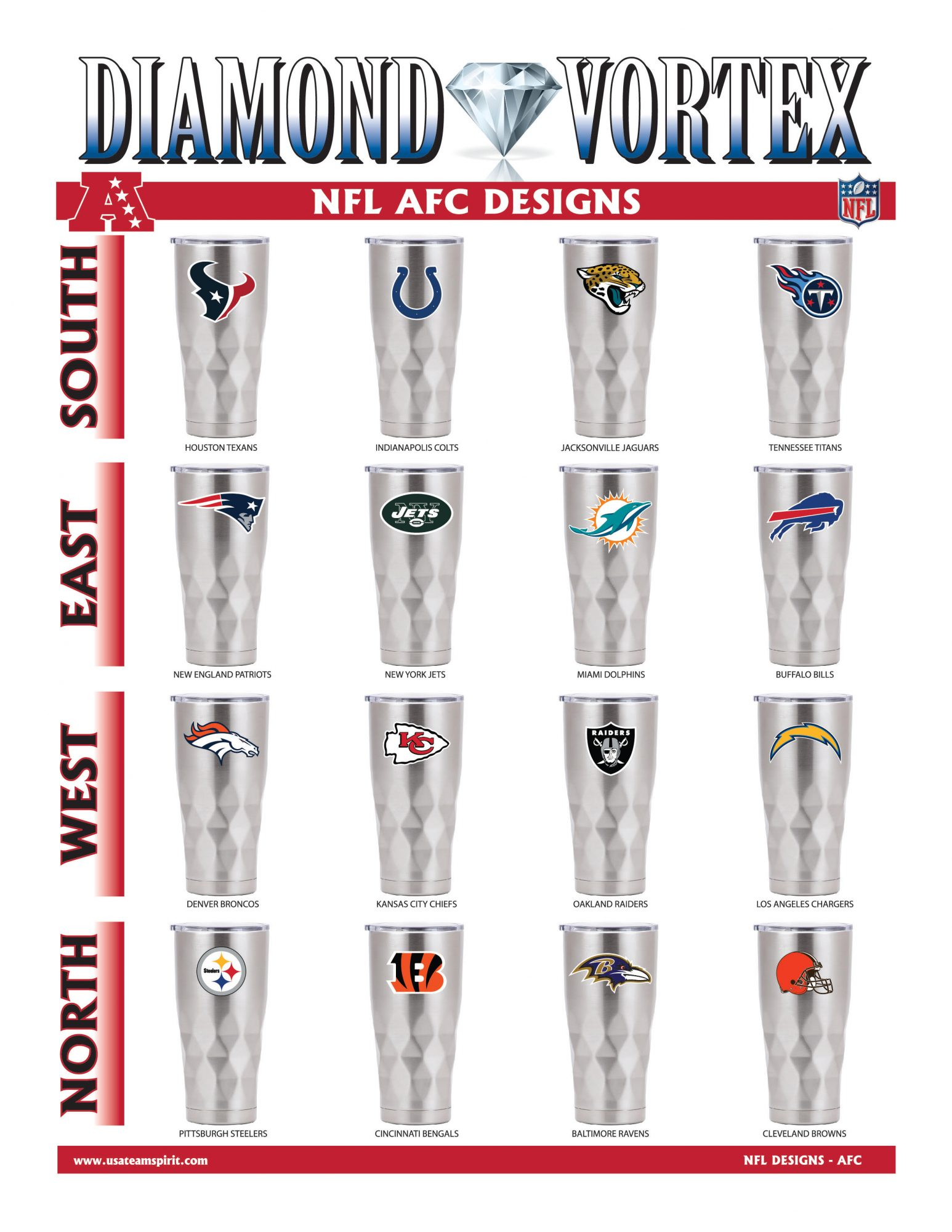 22oz NFL Diamond Vortex Page2