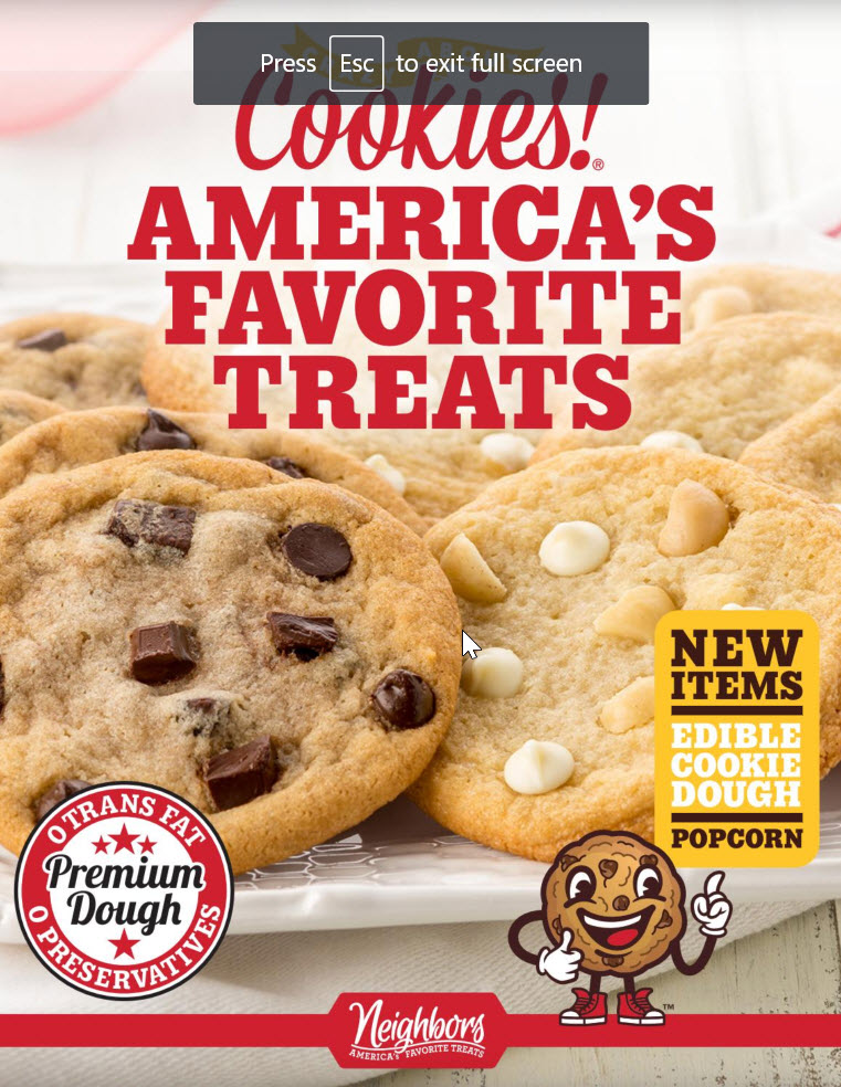 Neighbors Americas Favorite Treats Page 1
