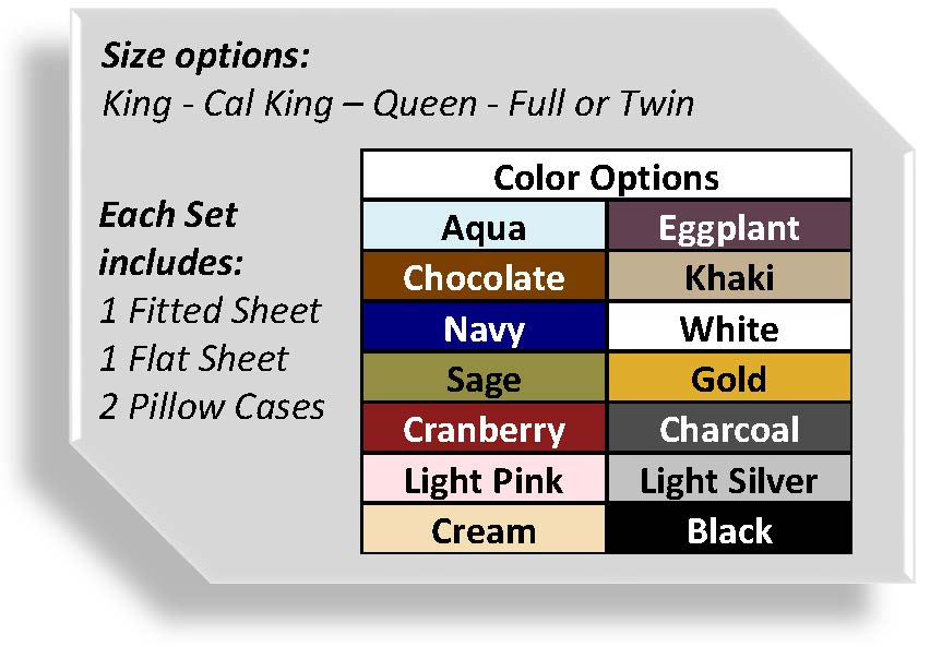 Special Moments Bed Sheet Set Fundraiser Available Colors 1