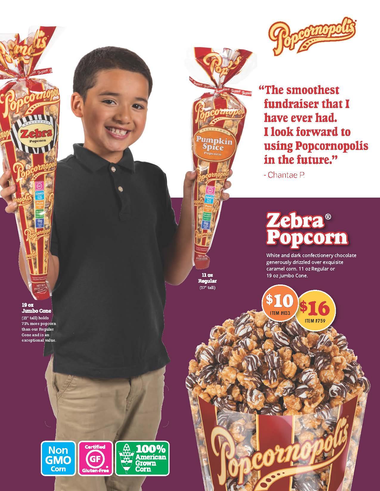 Popcornopolis Brochure Cover