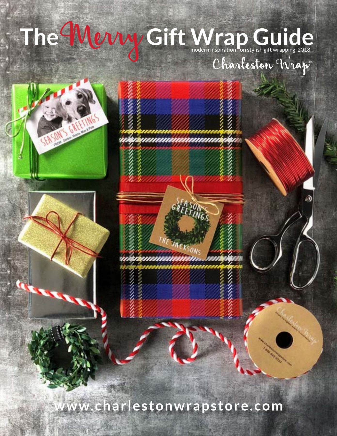 The Merry Gift Wrap Guide Cover