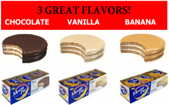 3 Great Flavors MoonPie