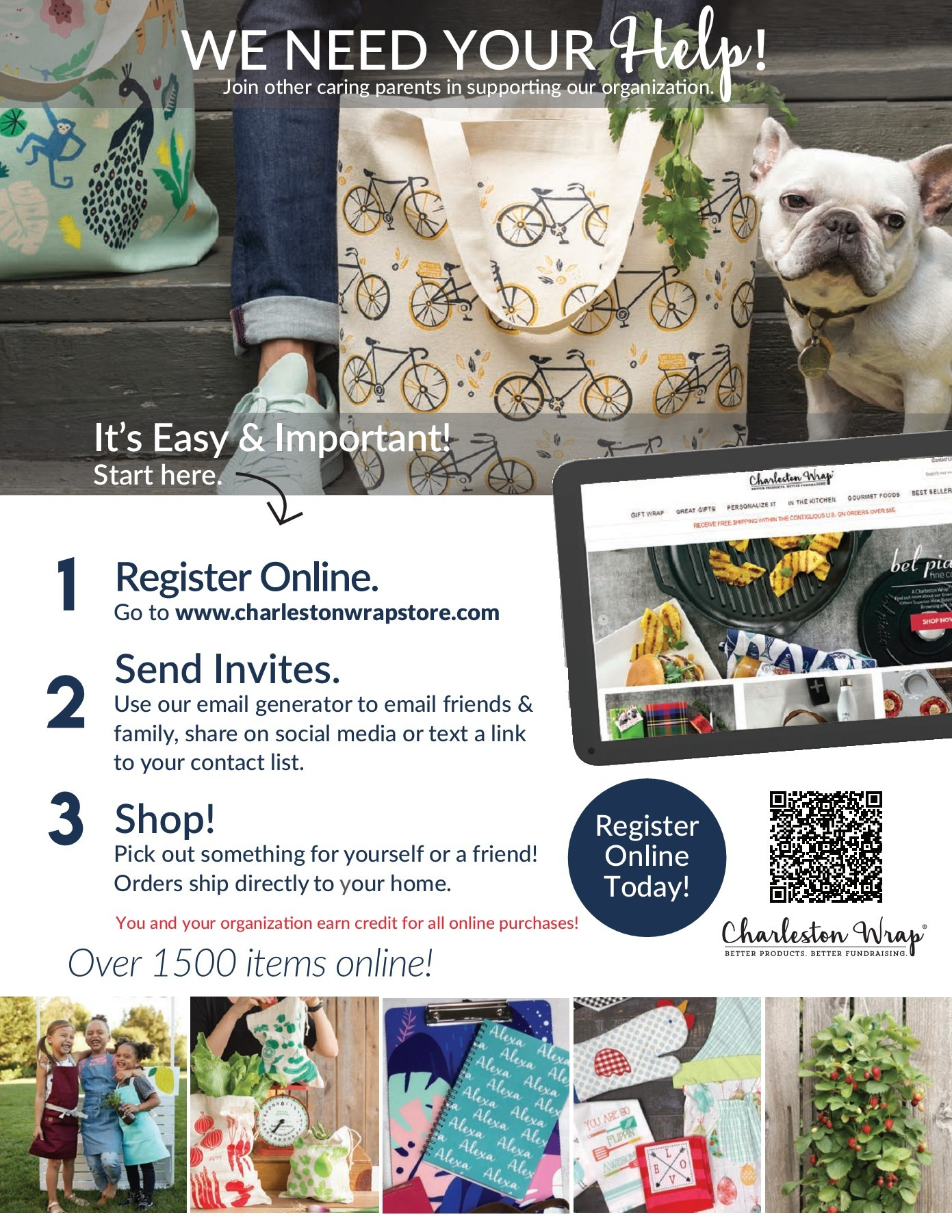 Charlest Wrap Online Flyer Page 1