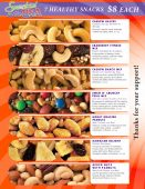 $8 7 Healthy Items Nuts & Snacks Flier