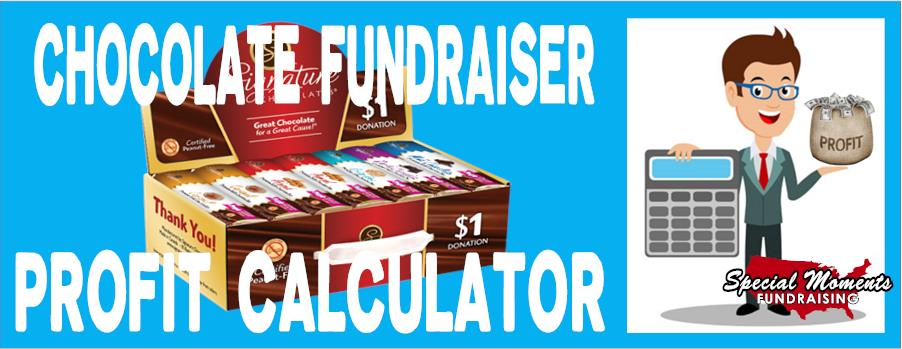 Chocolate Fundraiser Profit Calculator