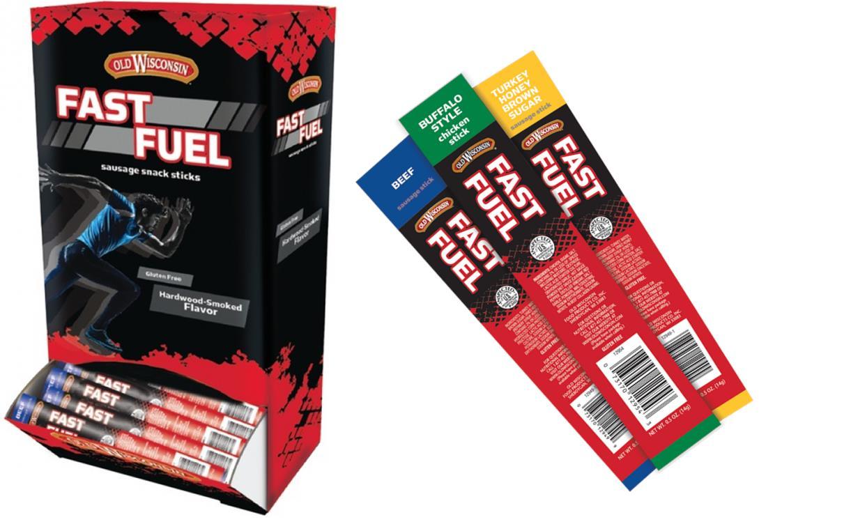 Fast Fuel Carrier & 3 Stick Flavors