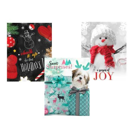 Gifts & Wrapping Paper Homepage Button White Background