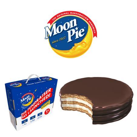 Moon Pie Homepage Button White Background