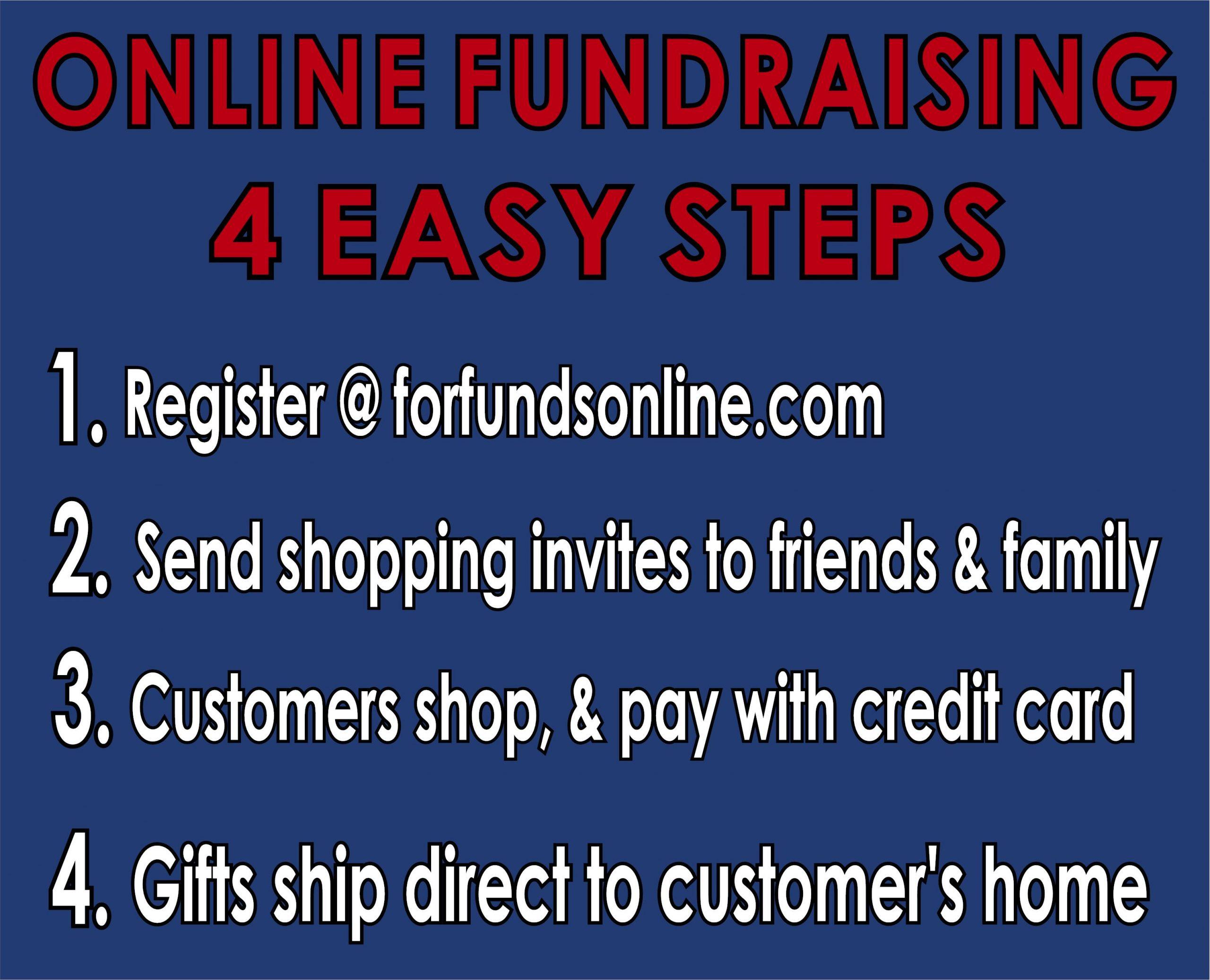 Online Fundraising in 4 Easy Steps