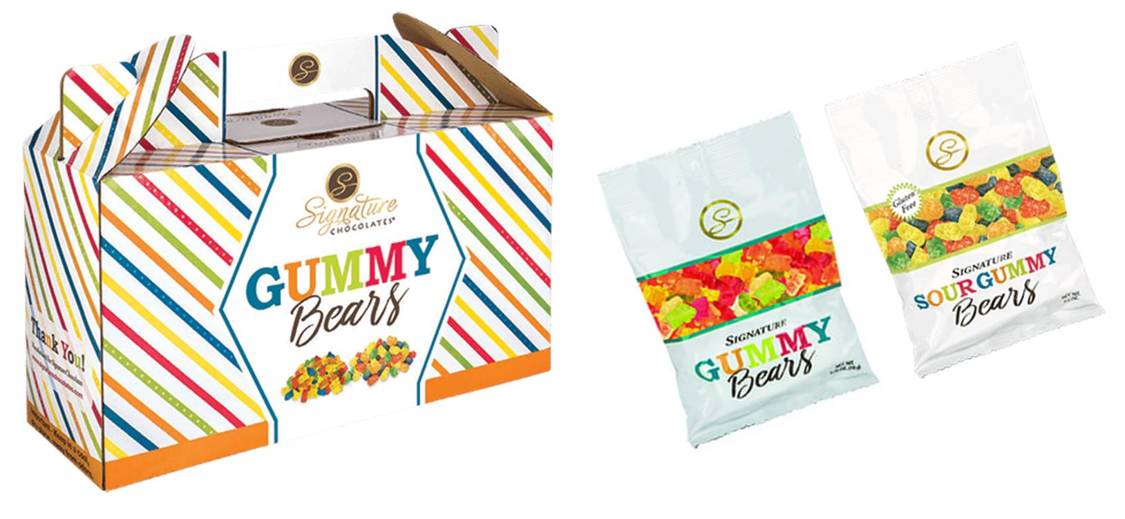 Signature Gummy Bears Carrier & Bags