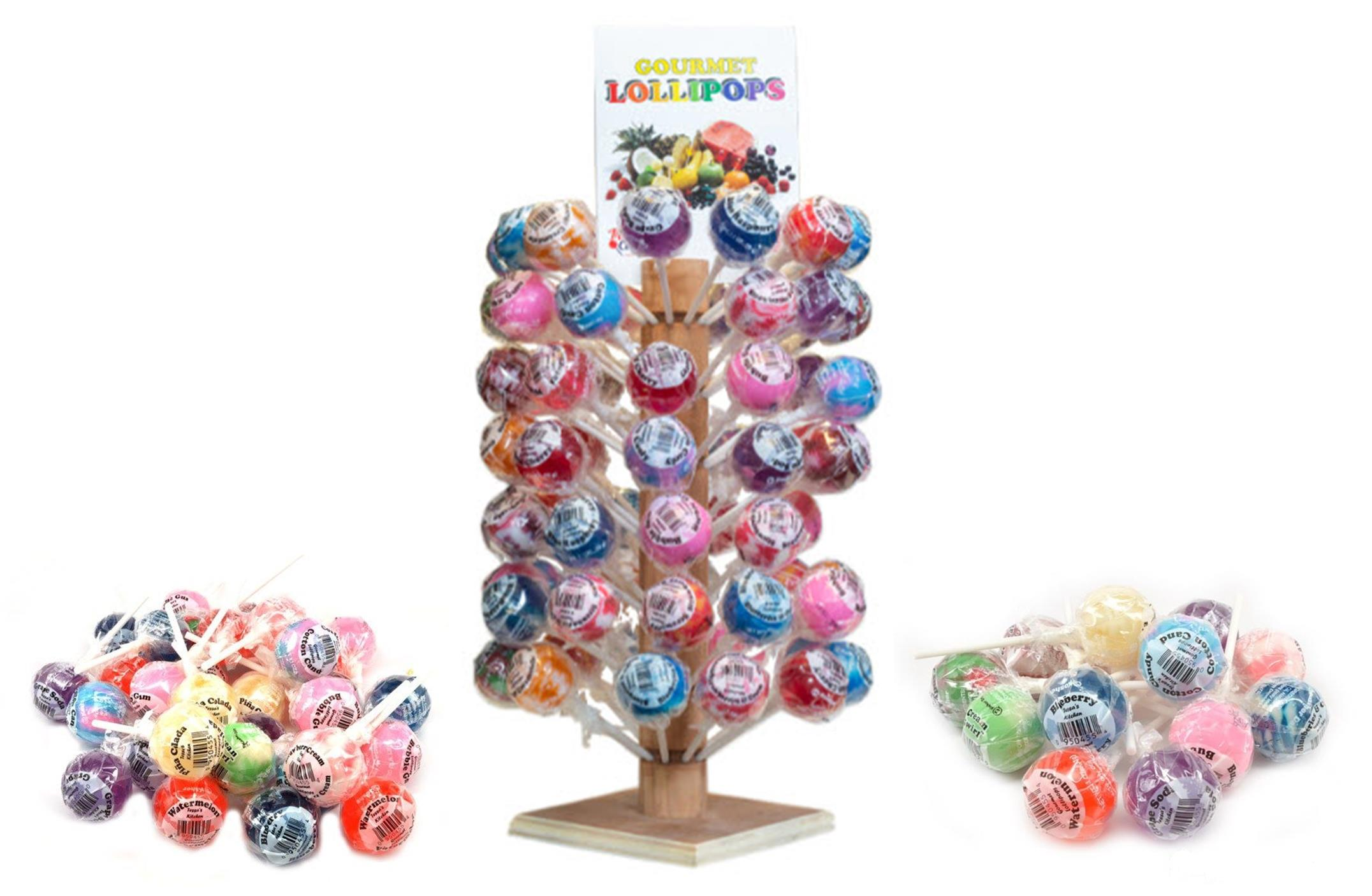 Tessa's Kitchen Gourmet Lollipops Collage