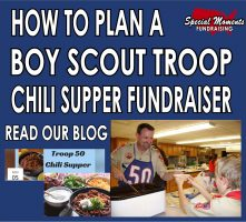 How To Plan A Boy Scout Troop Chili Supper Fundraiser