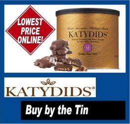 Katydids Buy by the Tin