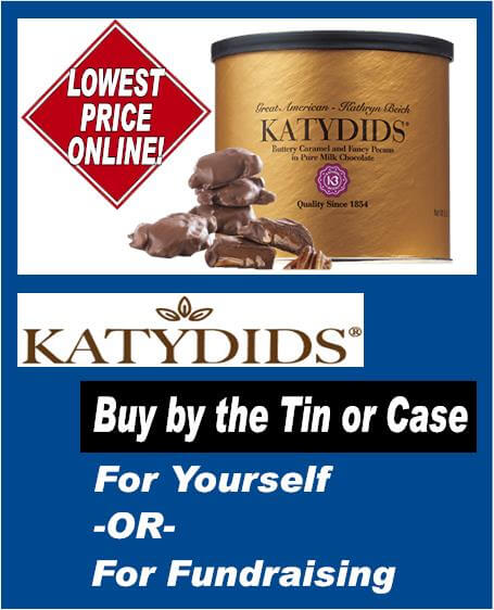 Katydids Buy by the Tin or Case (1)