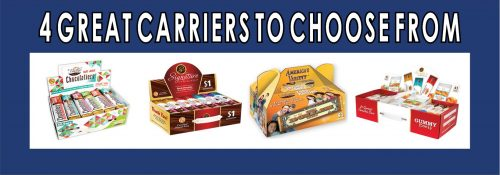 4 Great Dollar Fundraising Chocolate Bar Carriers To Choose From