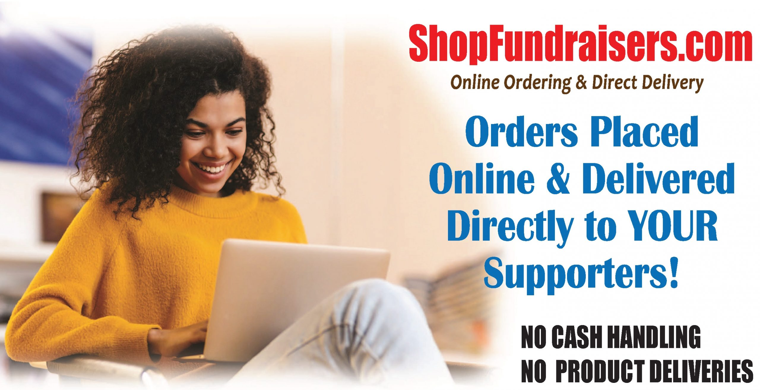 Shop Fundraisers Orders Placed Online