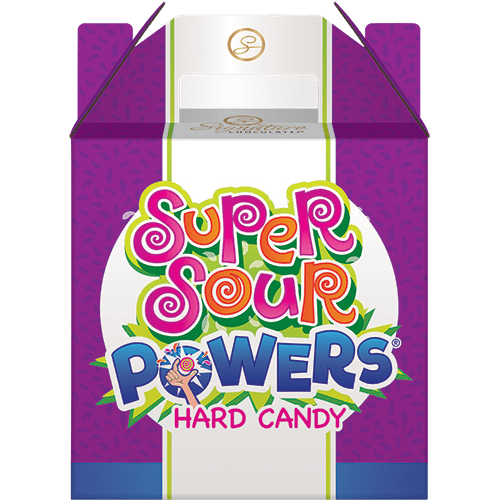 Super Sour Powers Candy Carrier